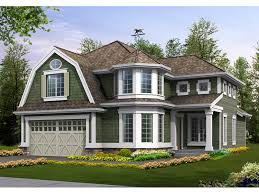 shingle style house plans. Single Siding And A Corner Turret Give This Home Great Curb Appeal Shingle Style House Plans