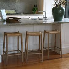 rustic wood counter height bar stools