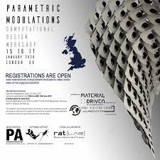 Parametric Design Workshop 2018 Parametric Modulations Workshop London Uk Parametric