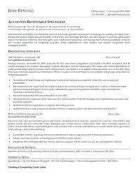 accounts receivables resumes accounts receivable resume accounts receivables resume sample