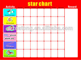 Weekly Behavior Chart For Home Dry Erase Magnetic Behavior Chart For Home Buy Magnetic Star Reward Behavior Chart Organize Kid Behavior Chore Chart Op Quality Magnetic Learning
