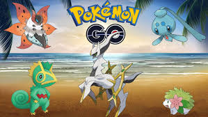 New Pokemon In Pokemon Go and the charge up event