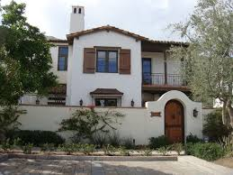 Wonderful Traditional Spanish Mediterranean Style Home With Tall Fence