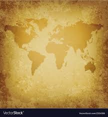 Old World Map Blank Template