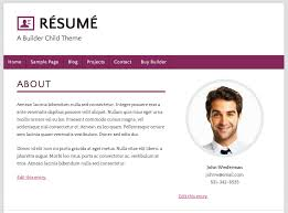 About Me Resume Examples Free Resume Templates 2018