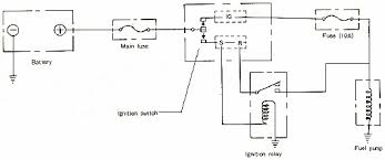 mazda 929 fuel pump circuit diagram