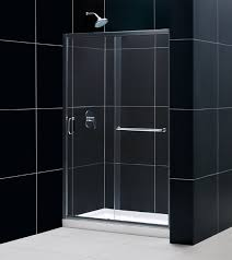 dreamline infinity z 44 to 48 frameless sliding shower door clear 1