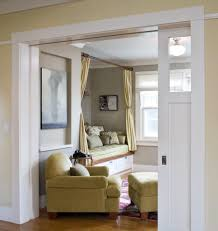 houzz doors living room traditional with schoolhouse fixture pocket doors
