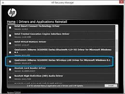 hp pcs resolving broadband internet connection problems windows 8 hp recovery manager drivers and applications reinstall