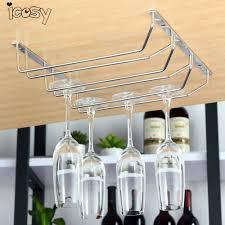 Wine Glass Hangers Under Cabinet Popular Wine Glasses Rack Buy Cheap Wine Glasses Rack Lots From