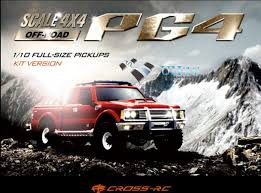 CROSS RC PG4 4x4 1/10 Cross Country Pickup Truck Kit-in RC Cars from ...