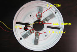 how to wiring smoke detectors to burglar alarm system technology fire alarm end of line resistor value at Alarm Resistor Wiring