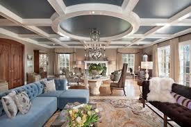 room cute blue ideas: beautiful blue microfiber living room furniture blue microfiber sectional sofa beige floral area rug blue painted