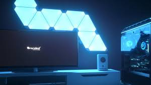 Gaming Led Wall Lights Nanoleaf Joins Forces With Razer To Create Even More