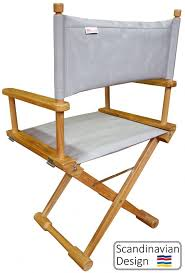 teak folding captains chair w cushions teak