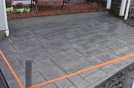 stamped concrete patio installation masonry concrete division