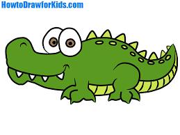 crocodile drawing for kids. Fine Crocodile How To Draw A Crocodile For Kids Throughout Crocodile Drawing For Kids HowtoDrawforKids