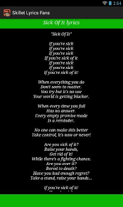 skillet monster. skillet lyrics fans- screenshot monster
