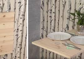 Optimiser Lespace De La Cuisine En Fabriquant Une Table Murale