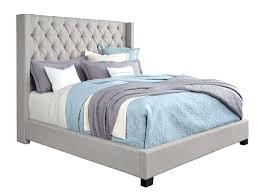 upholstered headboard queen. Queen Upholstered Bed Picture Of Westerly Light Grey Set Headboard Bedroom