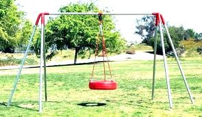 wooden swingset accessories home depot swing sets tire swings for trees wood playset