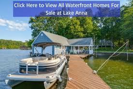 waterfront homes at lake anna