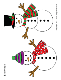 Snowman Free Printable Templates Coloring Pages