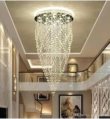 amazing michigan chandelier for top modern led crystal pendant lamp hotel villa lobby restaurant ceiling light