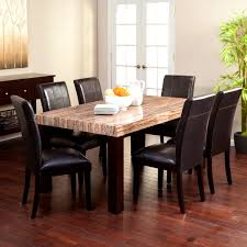 Stone Dining Room Table Furniture Personable Dining Room Tables Granite Tops Beautiful