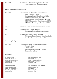 Educational Resume 14 13 Examples Higher Education Samples In