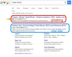 Bitcoin Exchange Kraken Informs Of Phishing Warning Beefs