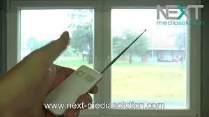 Dimmbare Sichtschutzfolie Für Fenster Zum Nachrüsten Youtube