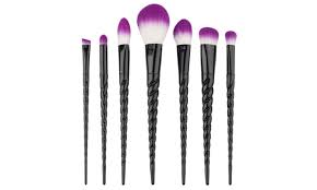 unicorn brush set. black unicorn brush set