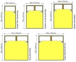 Bed Size Us Ntuniversity Info