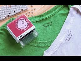 custom fabric stamp. Wonderful Custom Minestamp  Customizable Clothing Labeler Throughout Custom Fabric Stamp E