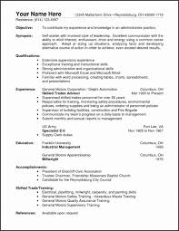 Warehouse Resume Templates Mesmerizing Resume Examples For Warehouse Worker Inspirational Resume Templates