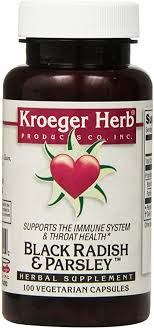 Kroeger Herb Black Radish and Parsley Capsules ... - Amazon.com