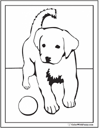 Coloring Page Puppy Dog Coloring Pages