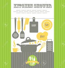 Kitchen Shower Kitchen Shower Vector Illustration Royalty Free Cliparts Vectors