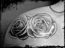 Tetování Old School Růže Tetování Tattoo