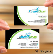 carpet installation business cards. business card design by sl designer for xtreme carpet and tile cleaning - installation cards