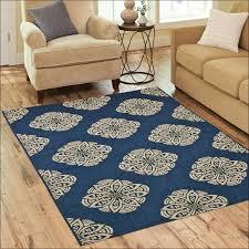peacock blue chevron rug