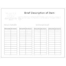 Silent Auction Bid Sheet Template Inspirational Cards