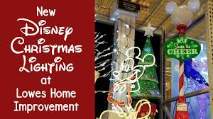 new disney christmas lighting at lowes bring the magic home