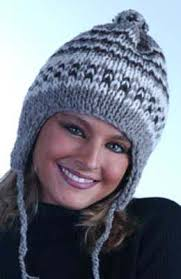 Earflap Hat Knitting Pattern Classy Double Knit Hat With Earflaps FaveCrafts