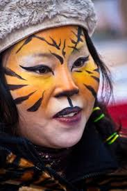feed your feline frenzy with this easy to do tiger face paint