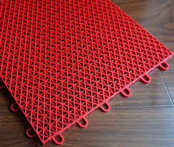 outdoor plastic tile easy install sports floor for basketball courts