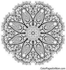 Small Picture Advanced Mandala Coloring Pages 843 Free Mandala Coloring Pages