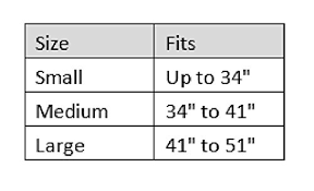Riggers Belt Size Chart Blackhawk Cqb Riggers Belt Black Medium Buy Online
