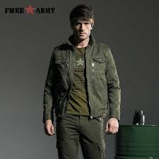 FREE <b>ARMY Spring Military Jacket Men</b> Camouflage Bomber <b>Jacket</b> ...